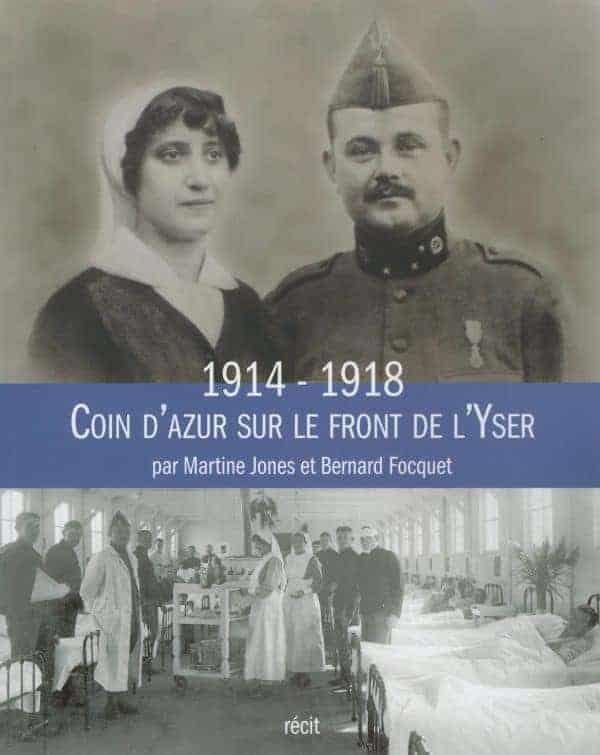 1914-1918 Coin d'azur sur le front de l'Yser