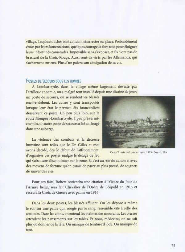 1914-1918 Coin d'azur sur le front de l'Yser - page 075