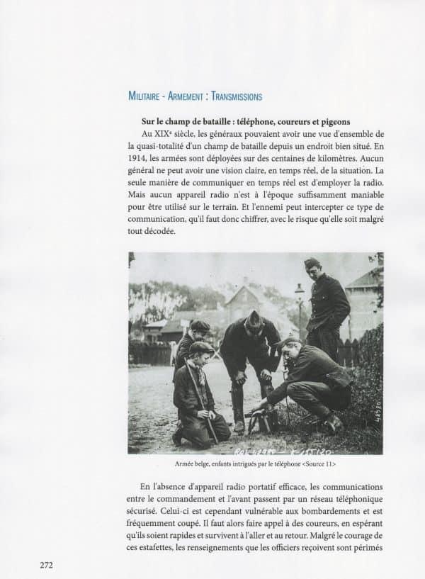 1914-1918 Coin d'azur sur le front de l'Yser - page 272