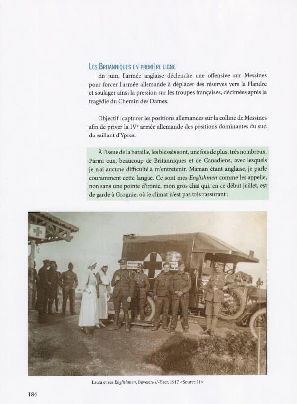 1914-1918 Coin d'azur sur le front de l'Yser - page 184