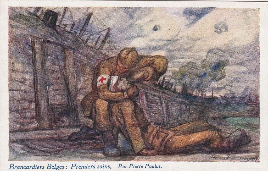 Brancardiers Belges : Premiers soins par Pierre Paulus