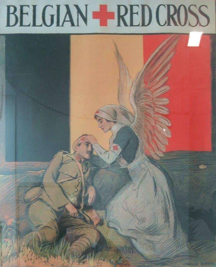 Croix-Rouge de Belgique par Charles Buchel