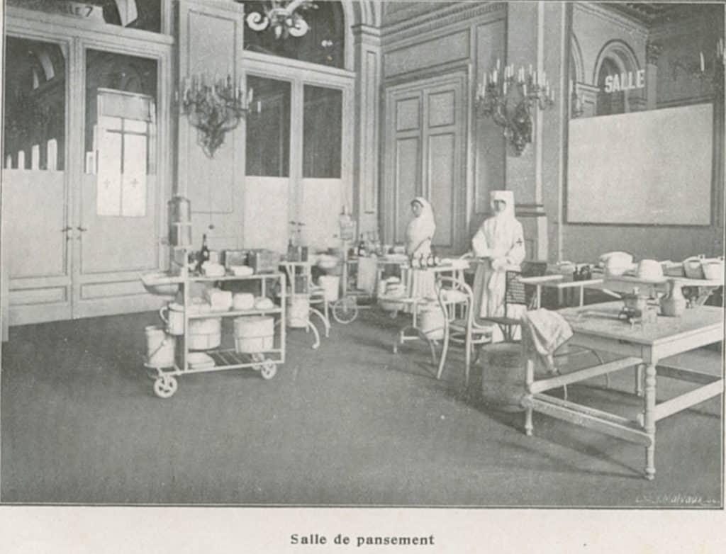 Salle de pansement