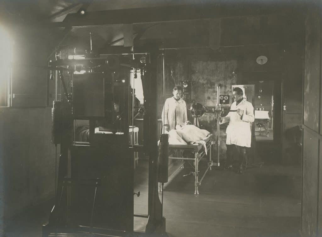 Beveren-sur-Yser - Salle de radiographie