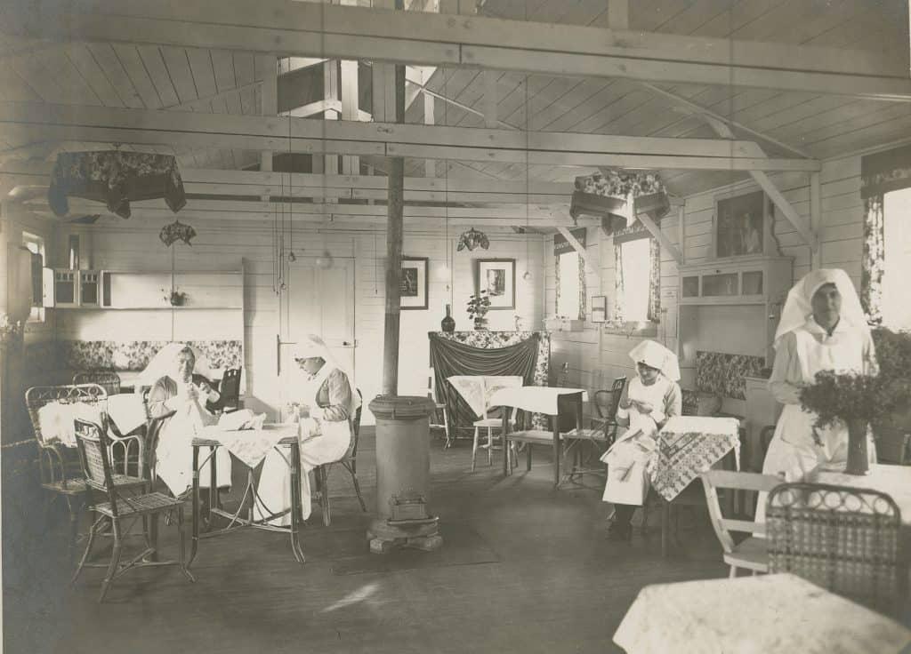 Beveren-sur-Yser - Salle de repos des infirmières
