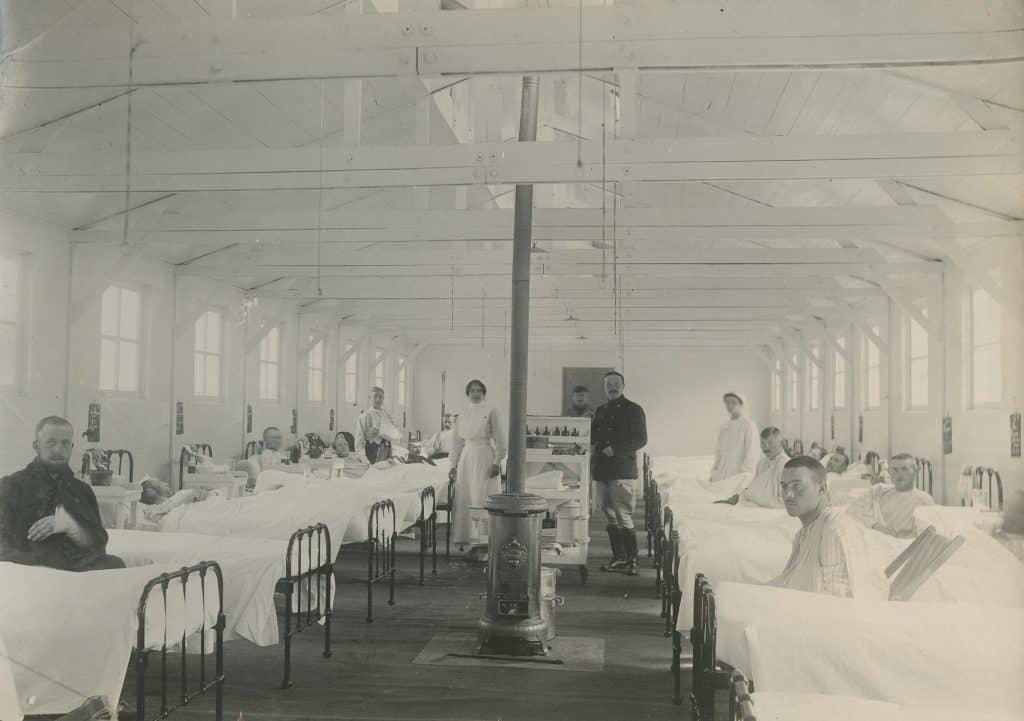 Cabour - Pavillon des blessés